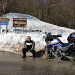 Neve Altissima a Portella Miraglia